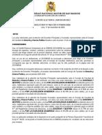 RESOLUCION Nº 062-CEU-UNMSM-2020.  Proclamacion Docentes CF DERECHO (PyA)[F][F].pdf