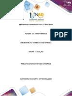 PEDAGOGIA Y DIDACTICAS PARA LA INCLUSION