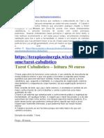 TAROT CABALÍSTICO FOURNIER