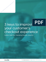 E-COMMERCE_3 Keys To Improving Your Customers Checkout Experience_CloudIQ