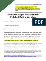 aplicativo para assistir jogos de futebol ao vivo gratis no pc.pdf