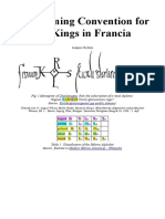 The Naming Convention for Kings in Francia