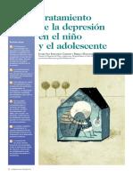 Tratamiento de la depresion infantil y adolescente
