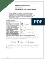 INFORME SEMANA 7 Relacion de transformacion y Curva de magnetizacion