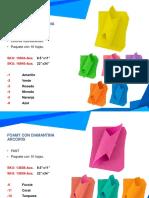 Catálogo General Platino foamy textura
