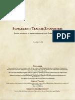 Trainer Supplement