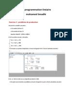 correction TD1 programmation linéaire
