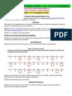 MATERIALES DE TRABAJO 4° A DOS DE MARZO DEL 7 AL 18 DIC- 2020