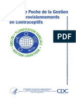Guide de Poche de la Gestion des Approvisionnement en Contraceptifs