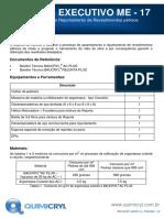 ME17 - Assentamento e Rejuntamento de Revestimentos pétreos - 4 pags