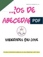 ABECEDARIOS VARIEDADES PAU LOVE