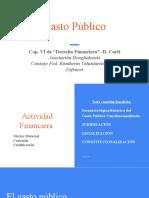 Gasto Público - el presupuesto en la Jurisprudencia de la CSJN (1)