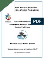 CIENCIAS POLÍTICAS UNDÉCIMO 4,5 Y 6