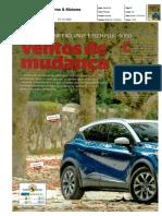 "RENAULT CAPTUR E-TECH HÍBRIDO PLUG-IN NA ""CARROS & MOTORES"""