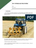 PAR MOTOR Y POTENCIA DE TRACTORES - LECTURA