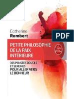 Petite philosophie de la paix intérieure .pdf