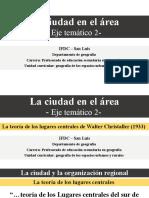 ET 2_7_La ciudad y la organización regional [La teoría de los lugares centrales]_Jávier Gutiérrez Puebla