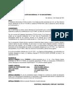 RESOLUCIÓN N° 107 BODEGA RETAIL ROSA PALOMINO