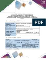 Guia de actividades y rubrica de  Paso 1 – Reconocimiento de saberes previos, momento de evaluación inicial (1)