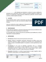 Procedimiento Control de información Documentada (V1)