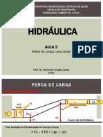 AULA 3 - PERDA DE CARGA LOCALIZADA.pptx