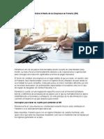 Impuesto Sobre la Renta de las Empresas en Panamá
