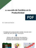 El Método de Cambios en la Productividad