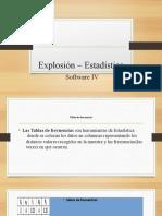 Explosión – Estadística