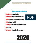 tarea 2 Ingenieria del Software (Juan Carlos Santiago_IV SEMESTRE)
