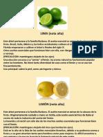 PLANTAS ACEITES Y DERIVADOS PUROS Y MEXCLAS