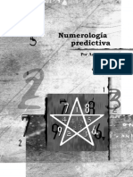 NUMEROLOGIA PREDICTIVA  - Zurita Ki