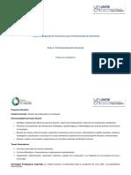 Sinópticos Programa Especial para Profesionales No Docentes. Fase II (1)