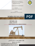 Bombas de Balancin