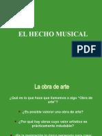 03 El Hecho Musical.pps
