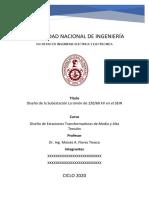 EJEMPLO DE DISEÑO S.E. LA UNIÓN 220-60 KV