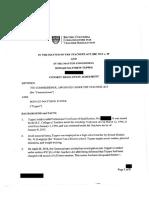 Donald Tupper consent resolution agreement
