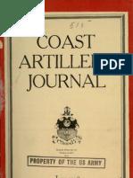 Coast Artillery Journal - Jan 1926