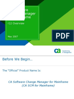 CA Software Change Manage r12 Feature Overview com