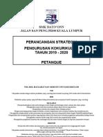 Pelan Strategik Petanque 2018 - 2020
