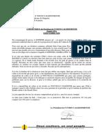 COMMUNIQUÉ UC - 8 décembre 2020