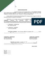 BOARD OF RESOLUTION CJY CLEMENTE CERTIFICATIONS