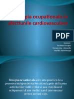 Terapia ocupationala in afectiunile cardiovasculare power point
