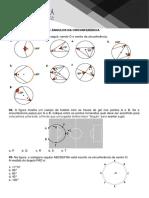 Lista Circunferência e Seus Ângulos