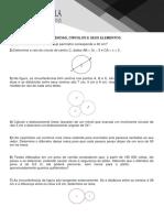 Lista Circunferência e Seus Elementos