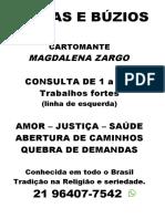 cartaz magdalena