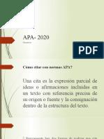 APA- 2020, taller.pptx