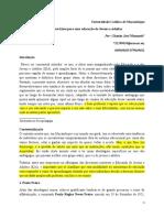 DIRECTRIZES DA EDUCAÇÃO DE JOVENS E ADULTOS