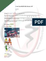 Alfa 147 - Crash test EuroNCAP Alfa Romeo 147