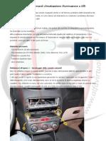 Alfa 147 - Manopole comandi climatizzatore a LED