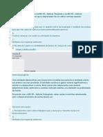 Mini Teste Auditoria  Contabilidade e Relato Financeiro II